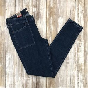 Levi's 711 Skinny dark wash Jeans size 28